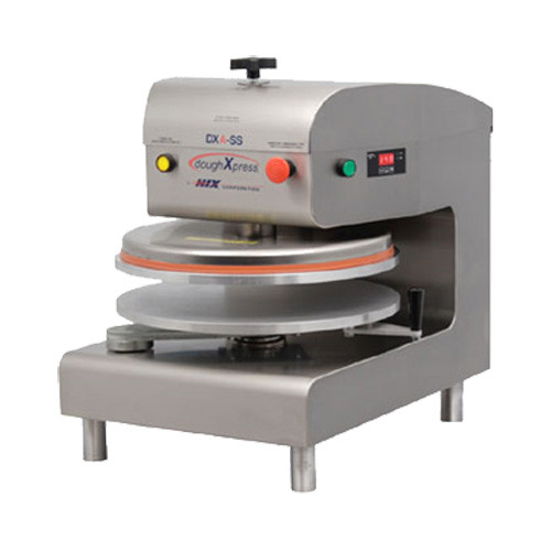 Pizza Dough Press  DoughxPress DXAWH Pizza Dough Press Air Operated Automatic