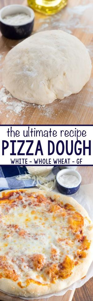 Pizza Dough Recipe Easy  Best Pizza Dough Recipe This one is light fluffy and