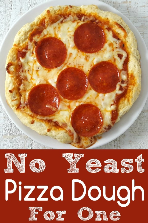 Pizza Dough Recipe With Yeast  Easy No Yeast Pizza Dough Recipe for e • Zona Cooks