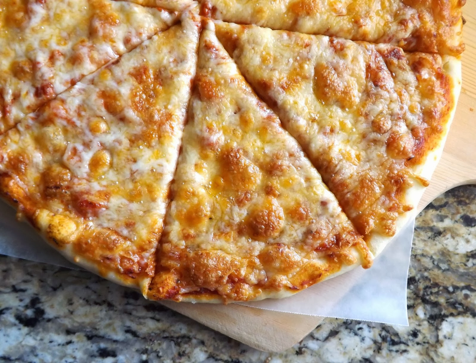 Pizza Dough With Yeast  The Bake f Flunkie Baking Powder no yeast Pizza Crust