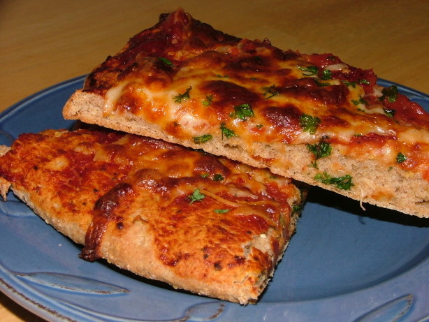 Pizza Dough With Yeast  Whole Wheat Yeast Free Herbed Pizza Dough Recipe Food