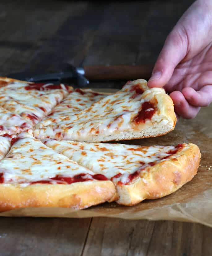 Pizza Dough With Yeast  Yeast Free Gluten Free Pizza Dough Ready in minutes