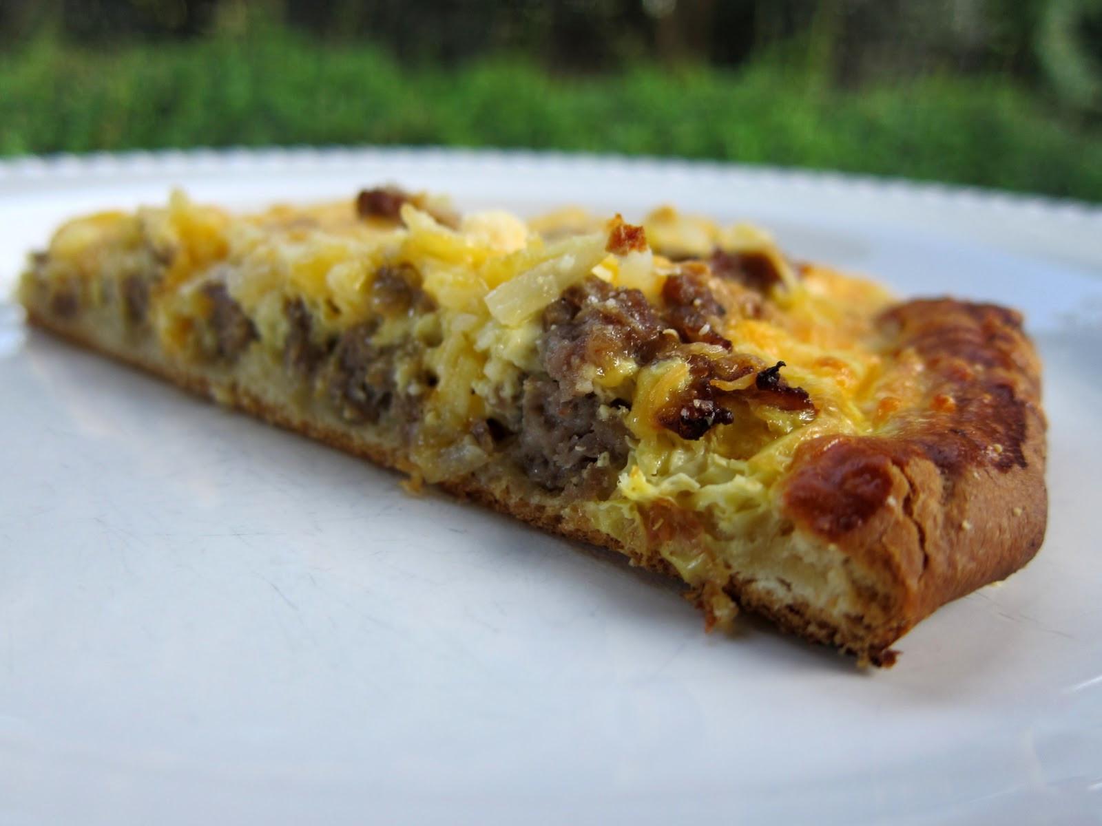 Pizza For Breakfast  Breakfast Pizza Plain Chicken