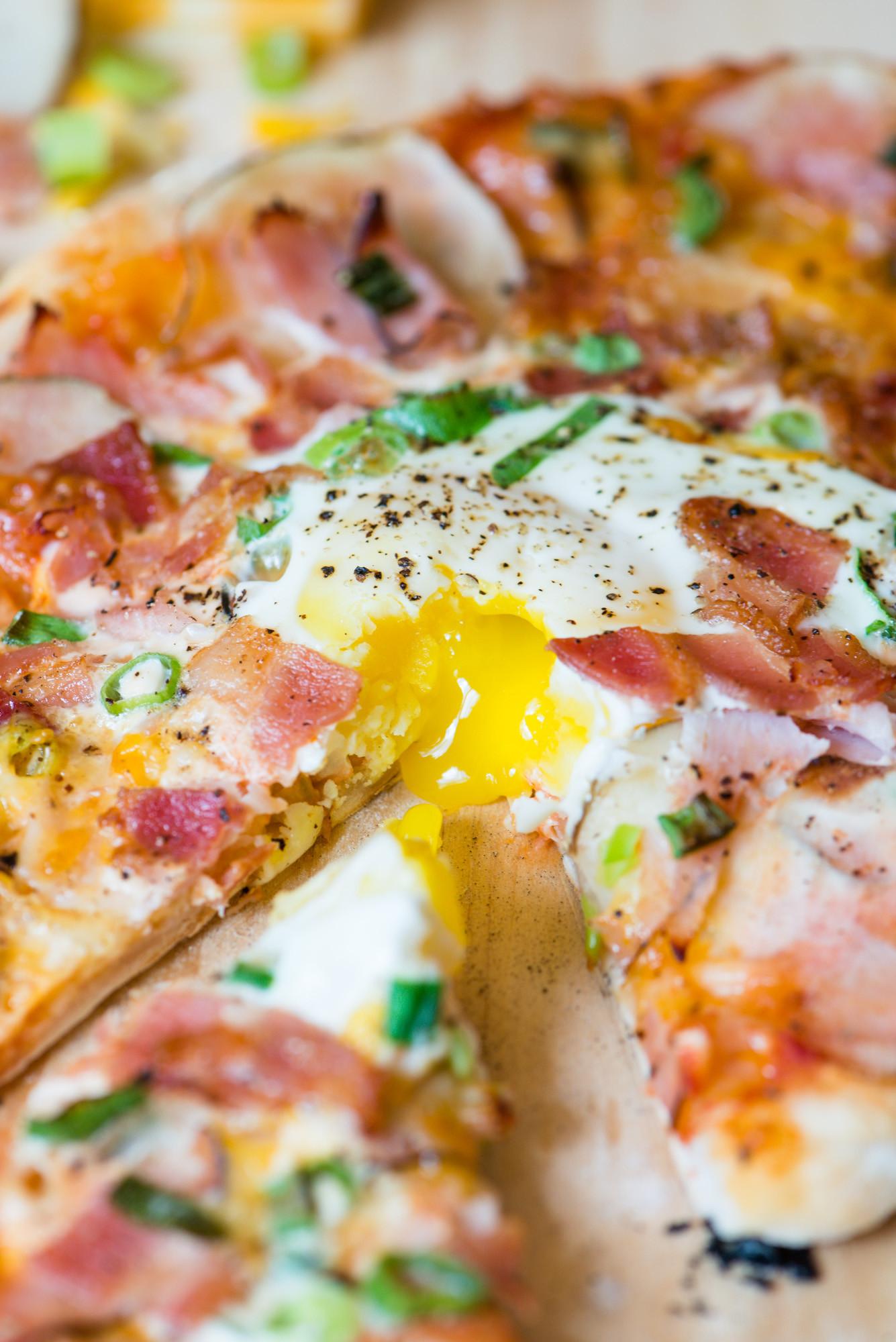 Pizza For Breakfast  Breakfast Pizza