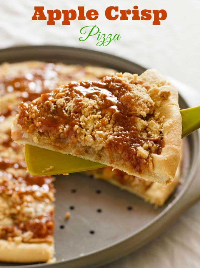 Pizza Hut Apple Pie  pizza hut apple dessert pizza recipe