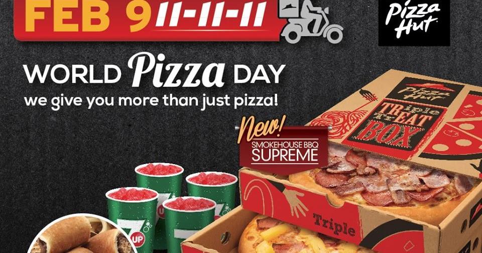 Pizza Hut Dessert Coupon  Manila Shopper Pizza Hut World Pizza Day Delivery Promo