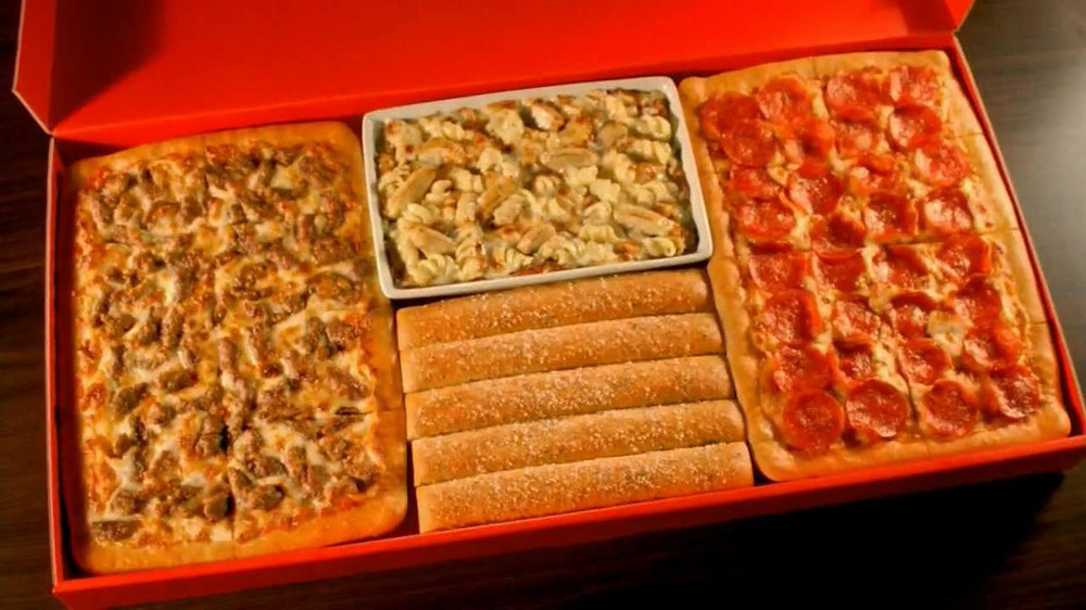Pizza Hut Dinner Box  Pizza Hut Big Dinner Box TV Spot iSpot