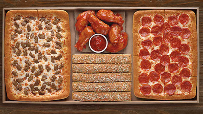 Pizza Hut Dinner Box  Pizza Hut Brings Back The Big Dinner Box For $19 99 Just