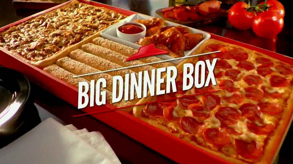 Pizza Hut Dinner Box  The gallery for Big Dinner