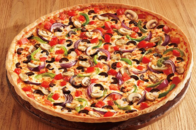 Pizza Hut Veggie Pizza  From KFC to Pizza Hut how calorie content of fast food