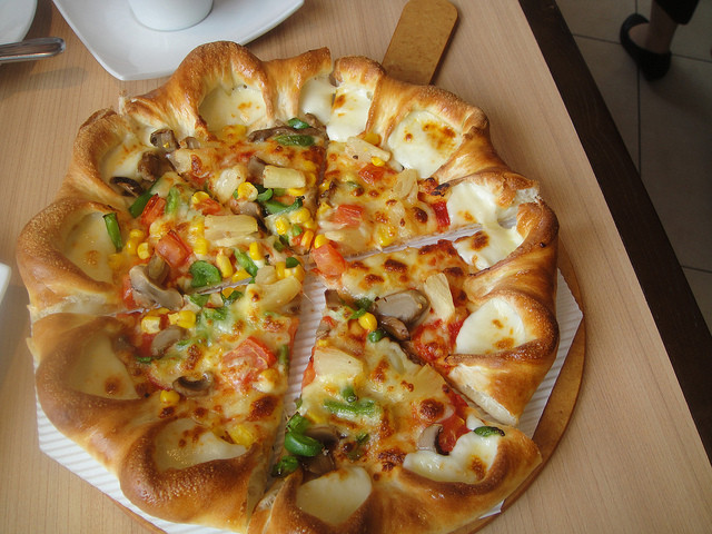 Pizza Hut Veggie Pizza  pizza hut s veggie pizza in china