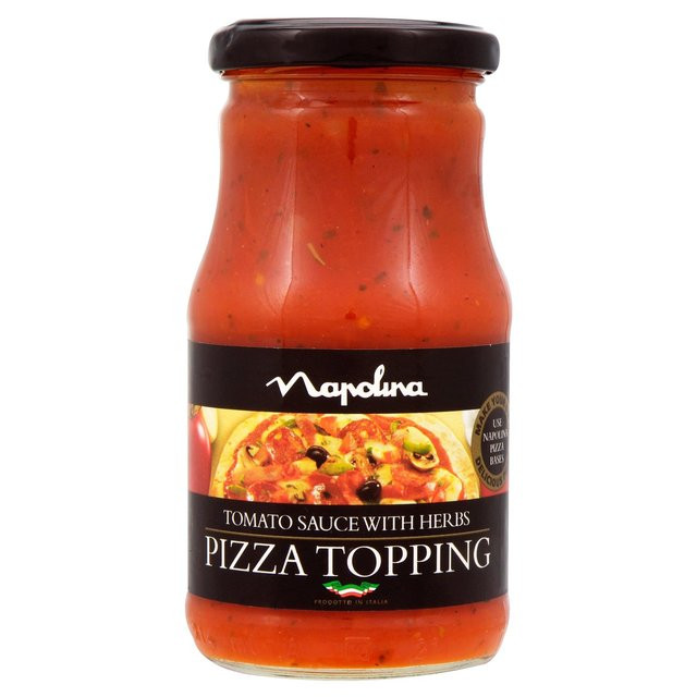 Pizza Sauce Brands  Napolina Tomato & Herb Pizza Topping 250g from Ocado