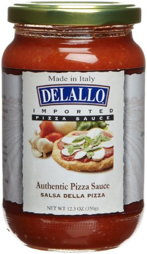 Pizza Sauce Brands  DeLallo Imported Italian Pizza Sauce 12 3 Ounce Jars