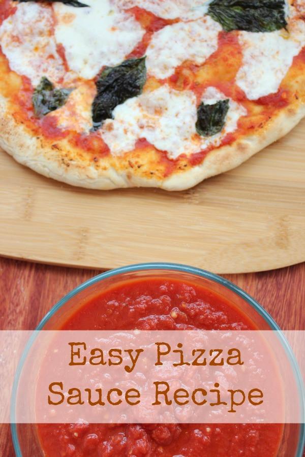 Pizza Sauce Recipe Easy  Easy Homemade Pizza Sauce Recipe BargainBriana