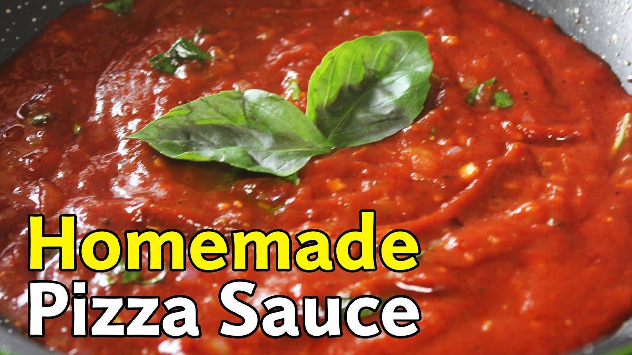 Pizza Sauce Recipe Easy  Homemade Pizza Sauce