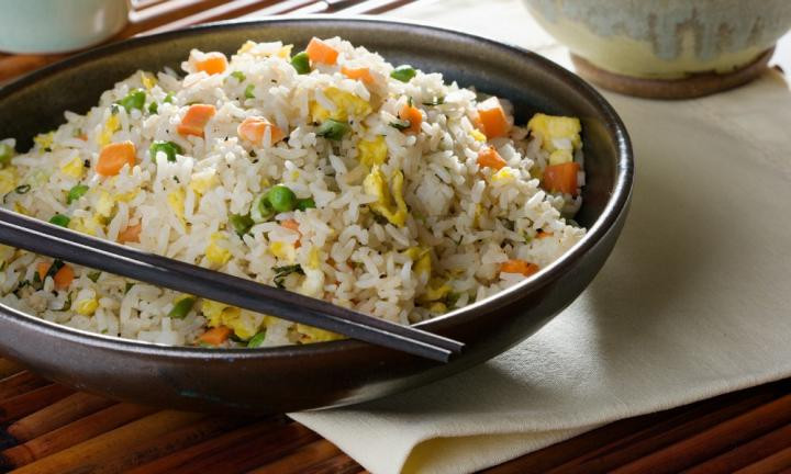 Plain Fried Rice  Simple fried rice Kidspot