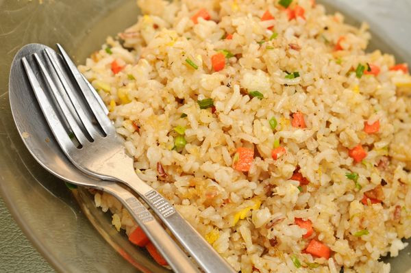 Plain Fried Rice  Skip The Take Out And Make The Perfect Fried Rice At Home