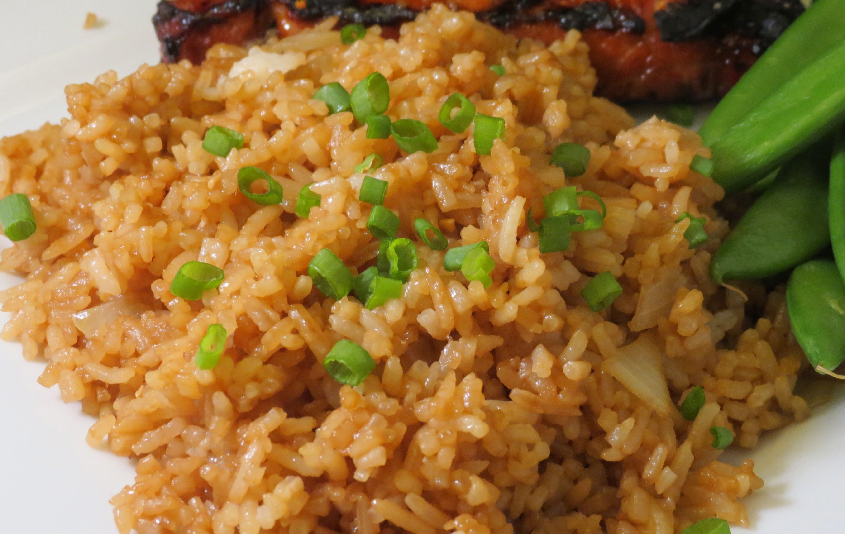 Plain Fried Rice  A Simple Fried Rice and Awards