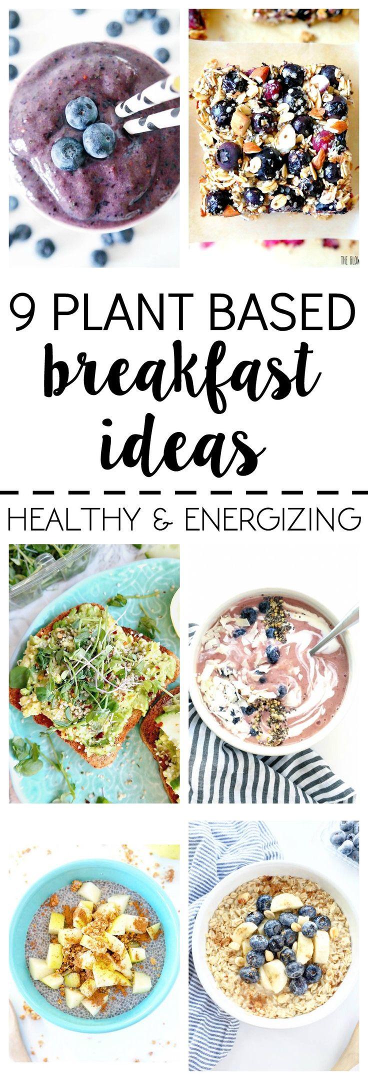 Plant Based Breakfast Recipes  What I Ate 9 Plant Based Breakfast Ideas All Vegan