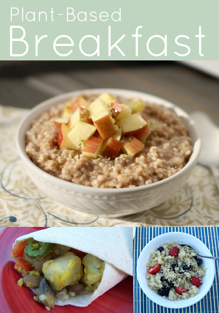 Plant Based Breakfast Recipes  Plant Based Recipes My Plant Based Family