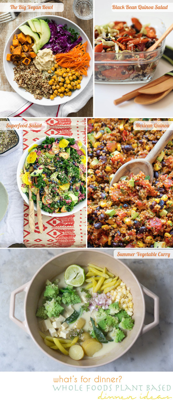 Plant Based Dinner Recipes  plant based dinner ideas going home to roost going