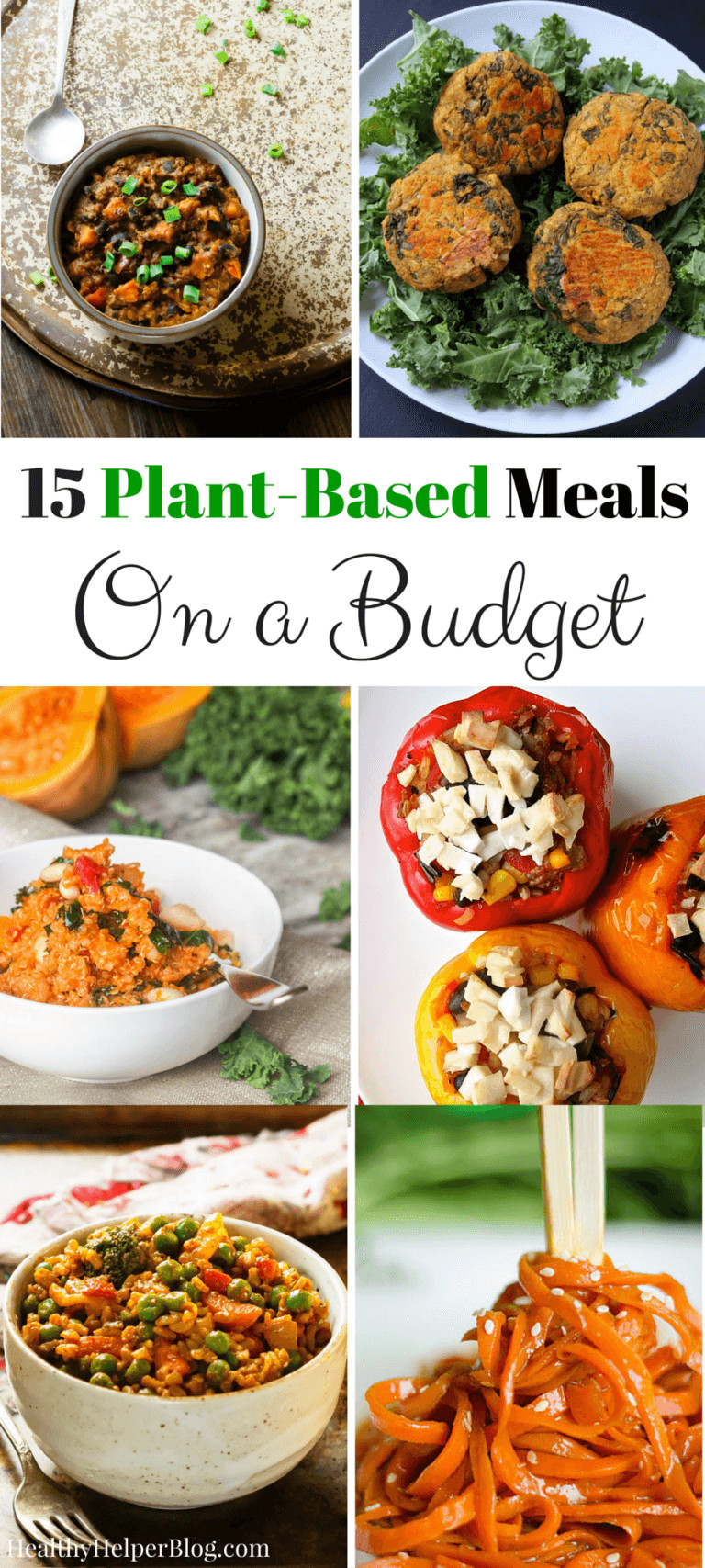 Plant Based Dinner Recipes  Love Healthy Recipes Wel e to the Healthy Living Link