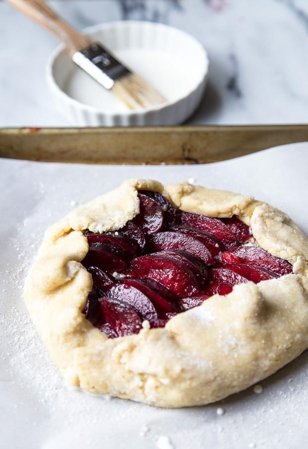 Plum Dessert Recipes  easy plum dessert