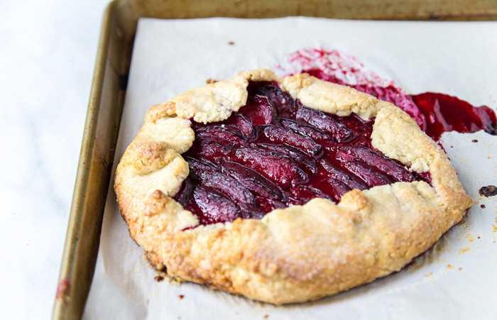 Plum Dessert Recipes  Plum Tart with Almond Filling for Two Dessert for Two