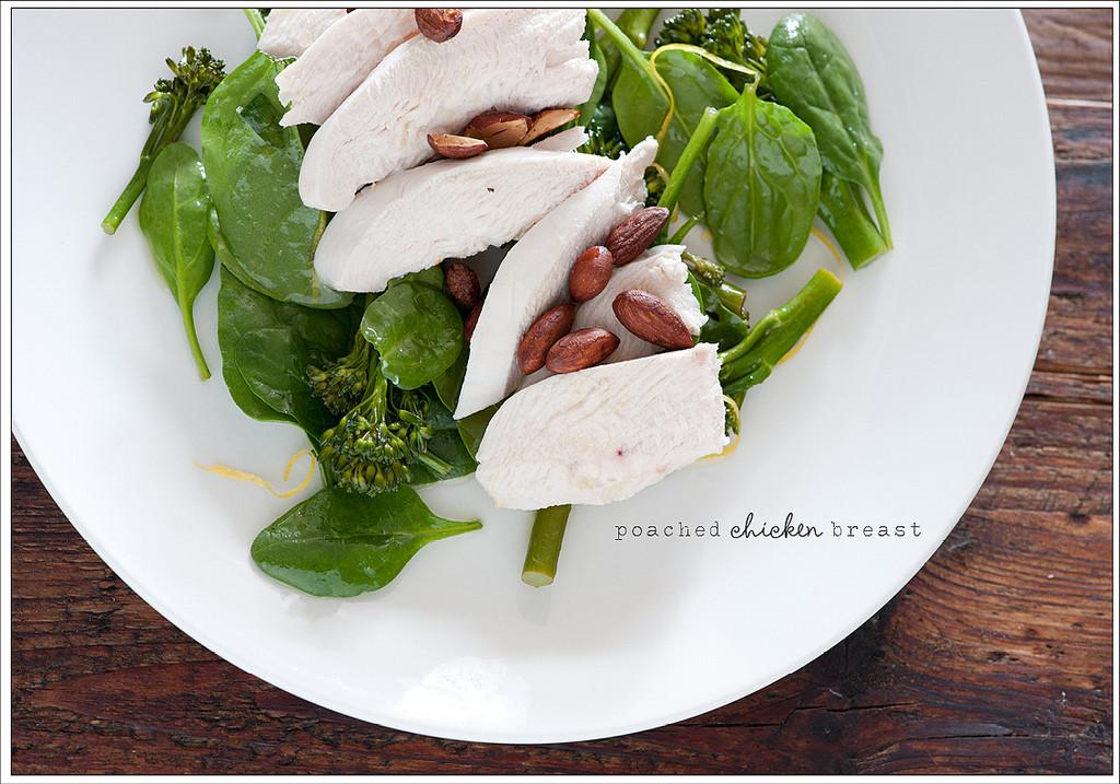 Poached Chicken Breasts  Poached Chicken Breasts