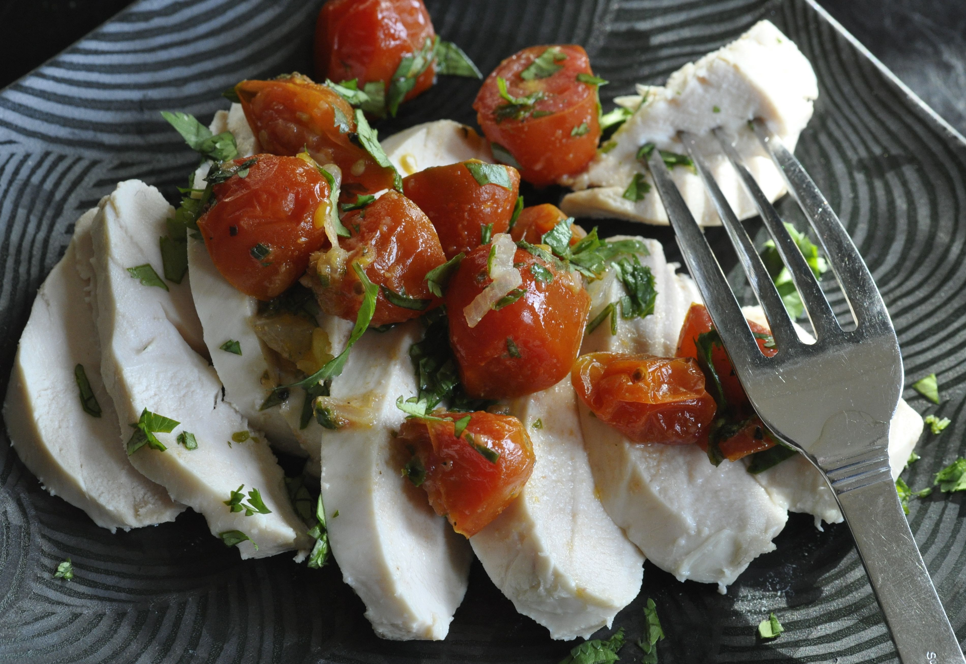 Poached Chicken Breasts  Perfect Poached Chicken Breasts