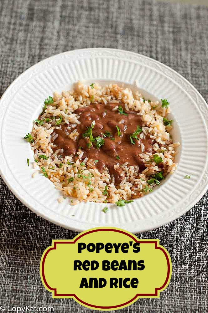 Popeyes Red Beans And Rice  Popeye s Red Beans and Rice
