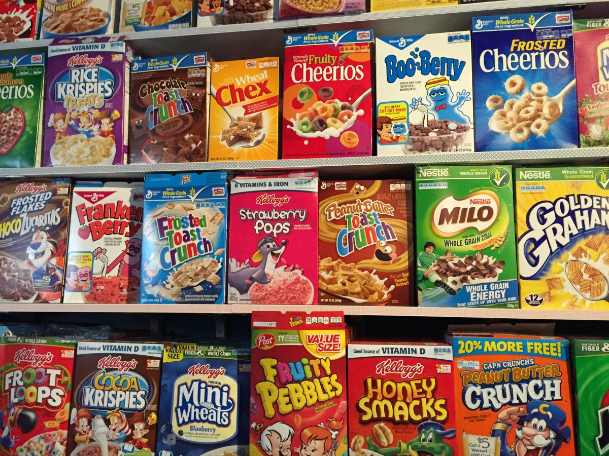 Popular Breakfast Cereals  Have A Look Inside The UK s First Breakfast Cereal Cafe
