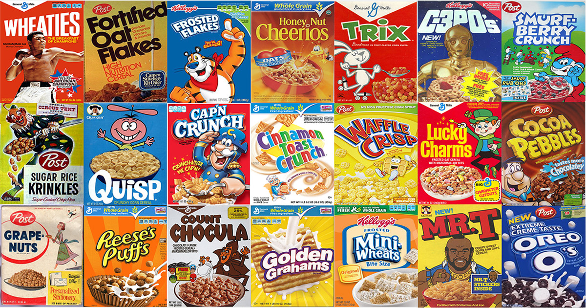 Popular Breakfast Cereals  The best cereals of all time ranked Vox