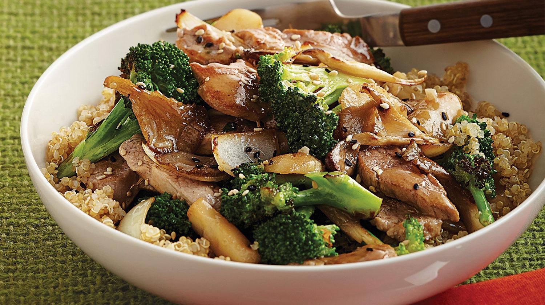Pork And Broccoli  Pork Stir Fry with Broccoli & Mushrooms Sobeys Inc