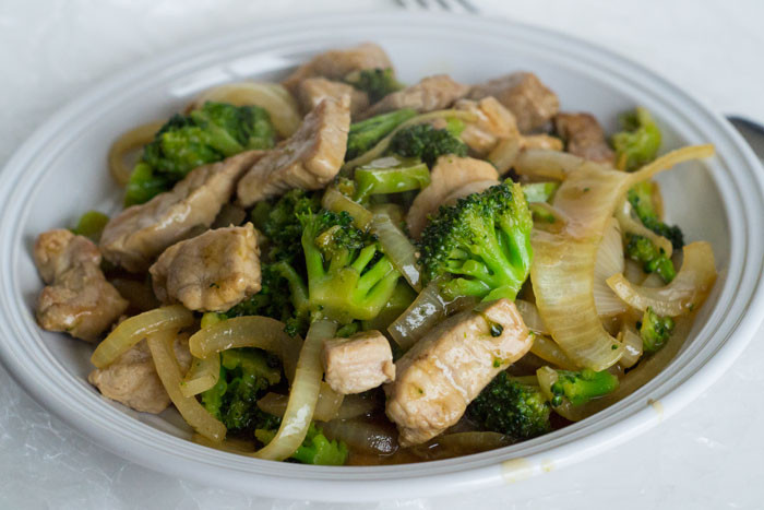 Pork And Broccoli  Pork and Broccoli Stir Fry Glue Sticks and Gumdrops