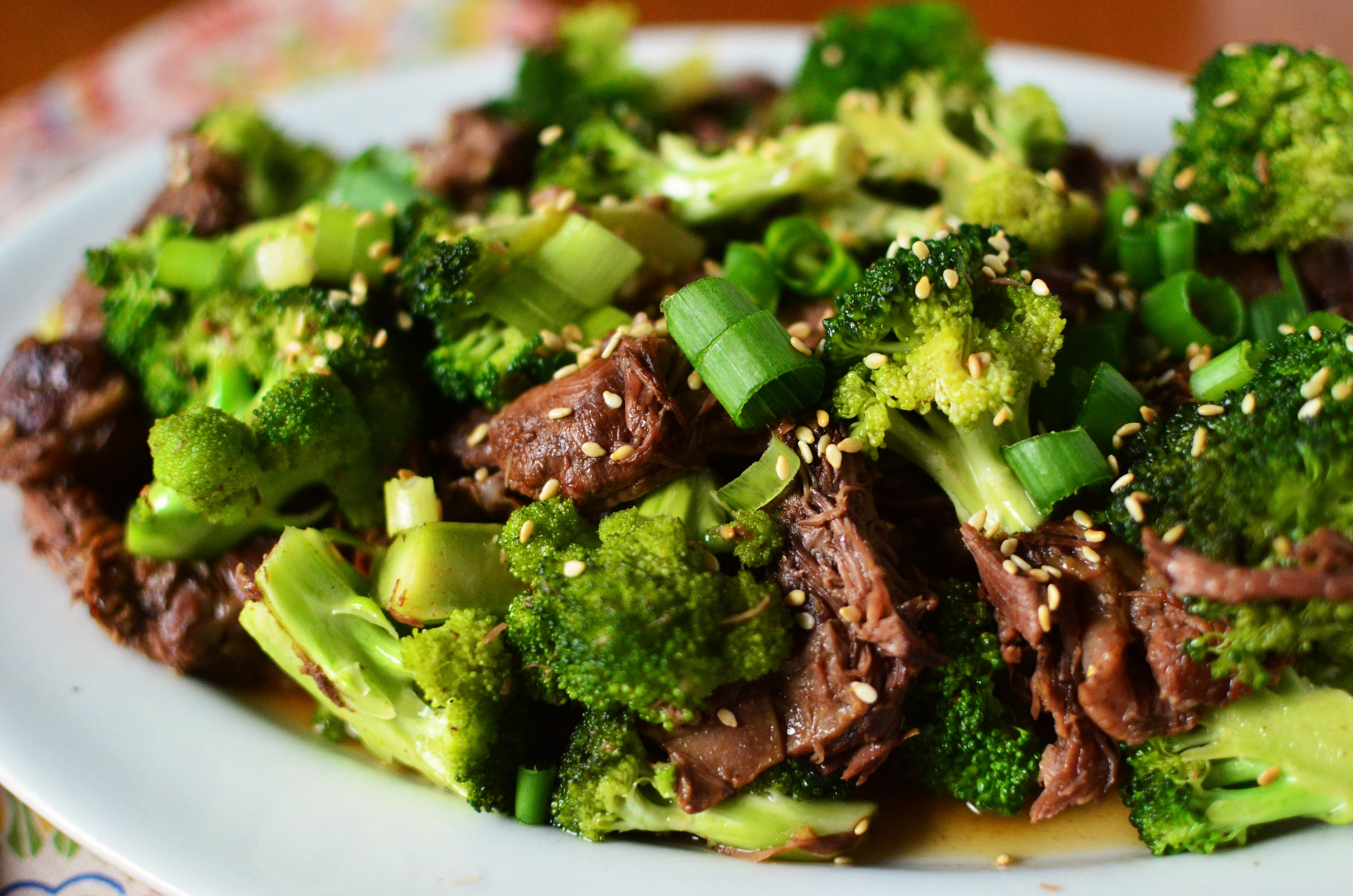 Pork And Broccoli  Slow Cooker Beef and Broccoli Simple Sweet & Savory