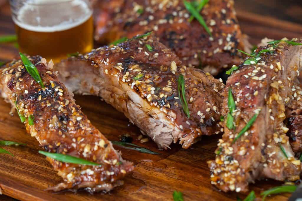 Pork Back Ribs Recipe  Korean Kalbi Baby Back Ribs • Steamy Kitchen Recipes