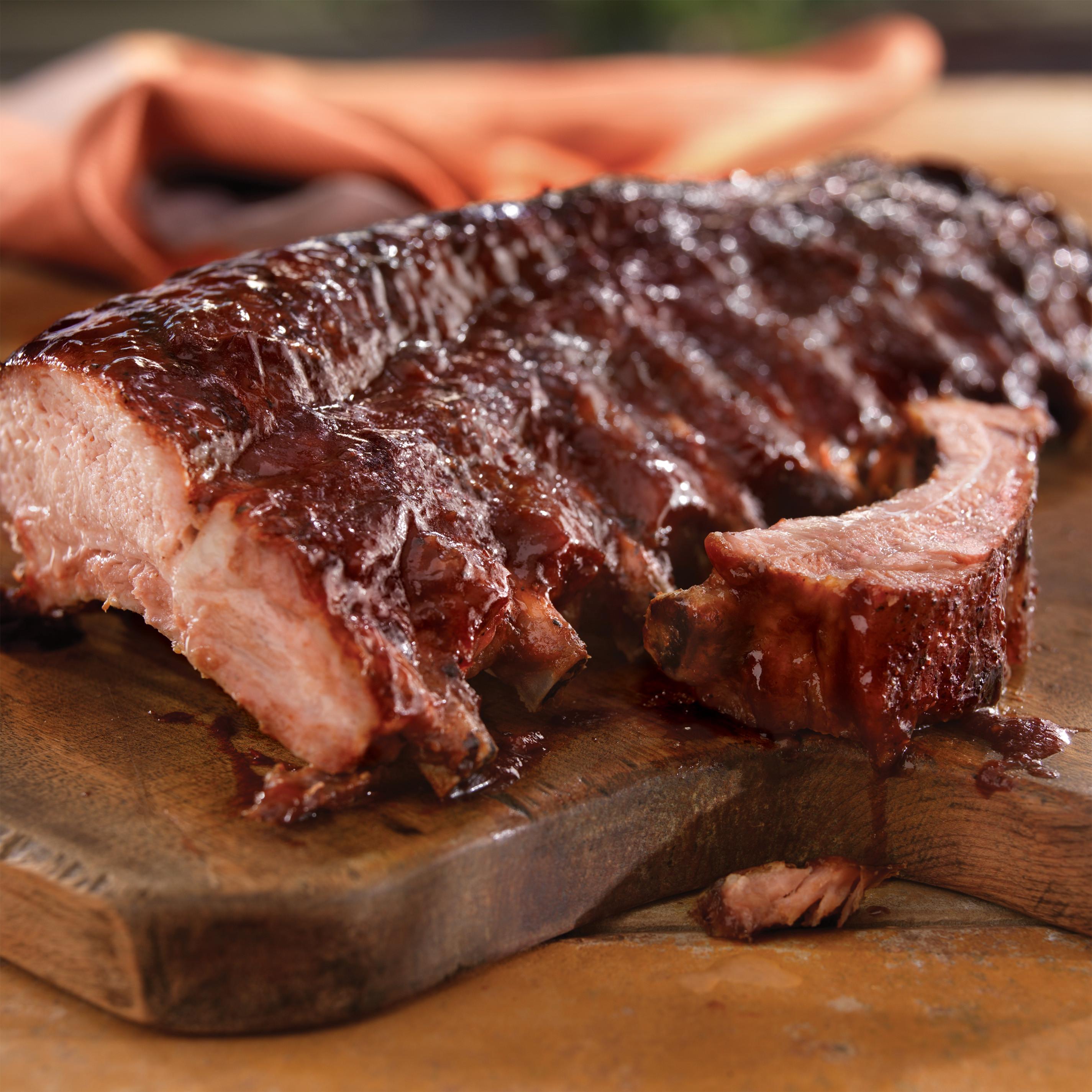 Pork Back Ribs Recipe  Mediterranean Back Ribs with Pomegranate Sauce Pork
