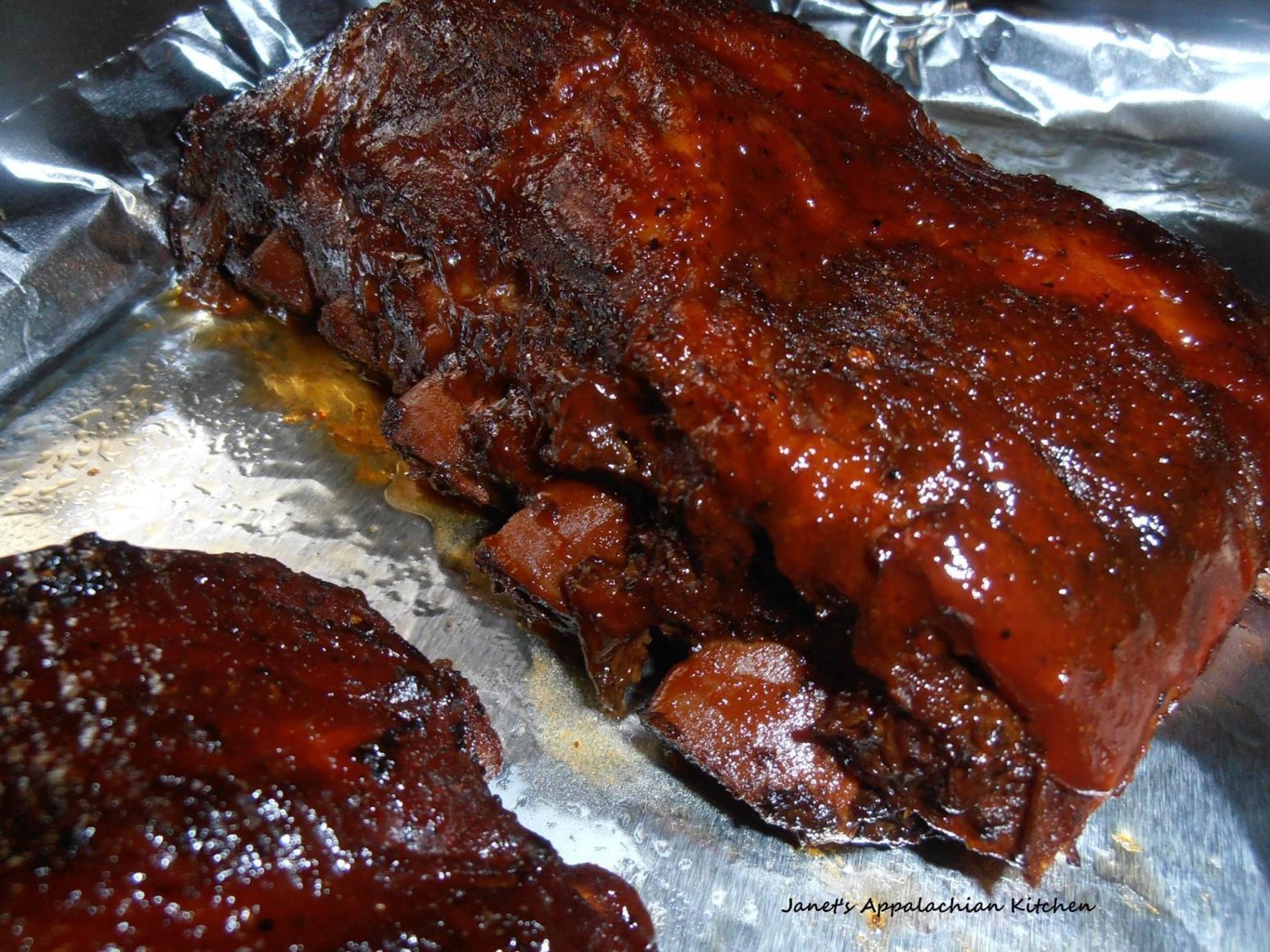Pork Back Ribs Recipe  Crock Pot BBQ Pork Back Ribs Recipe