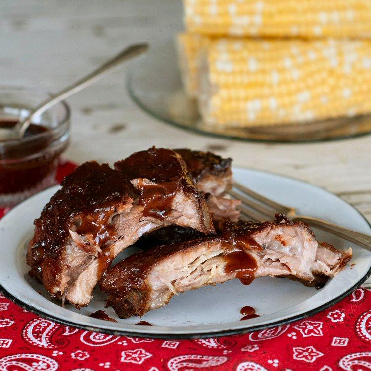 Pork Back Ribs Recipe  Baked Baby Back Pork Ribs Recipe — Dishmaps