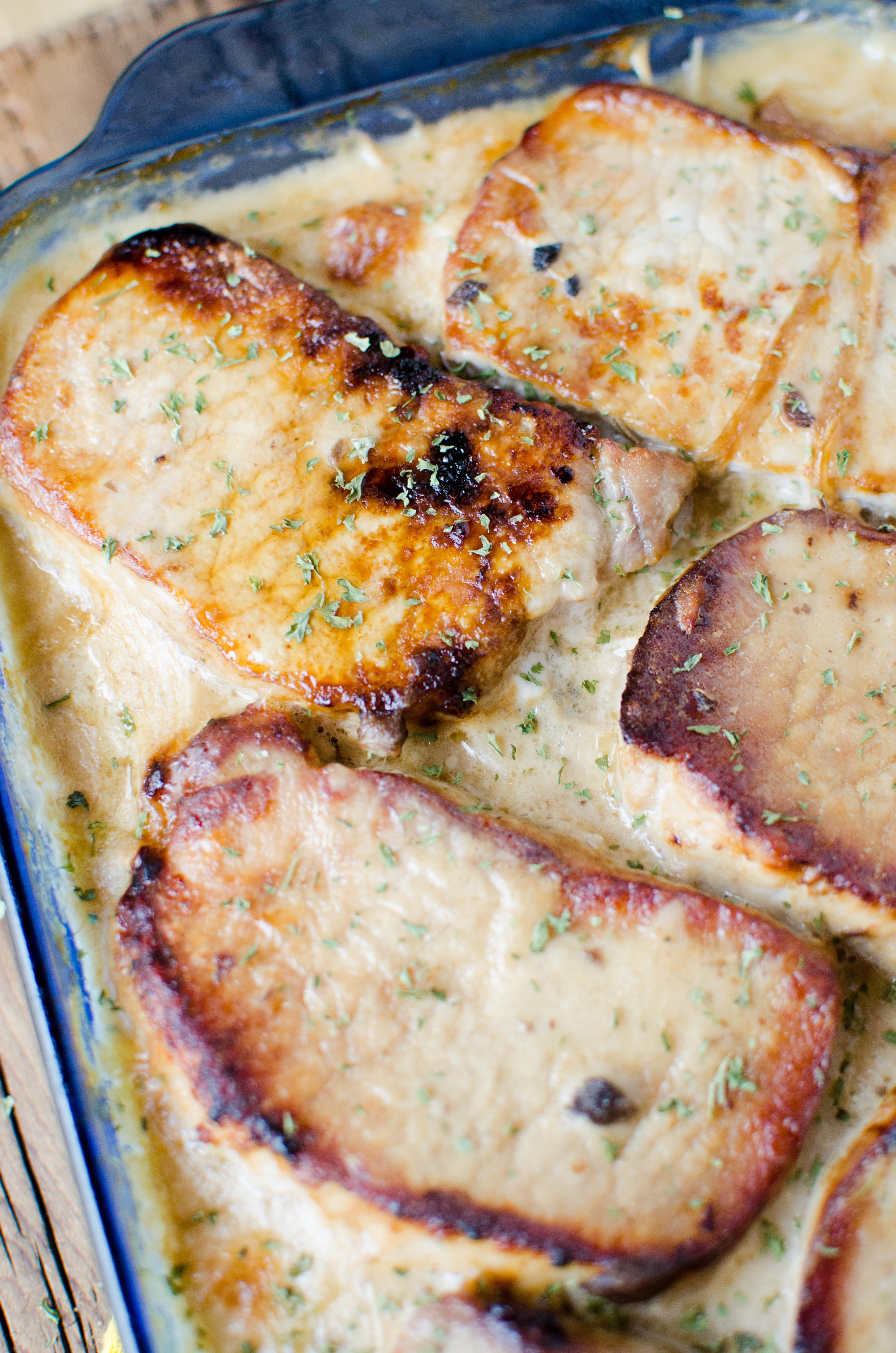 Pork Casserole Recipies  pork chops and scalloped potatoes with cream of mushroom soup