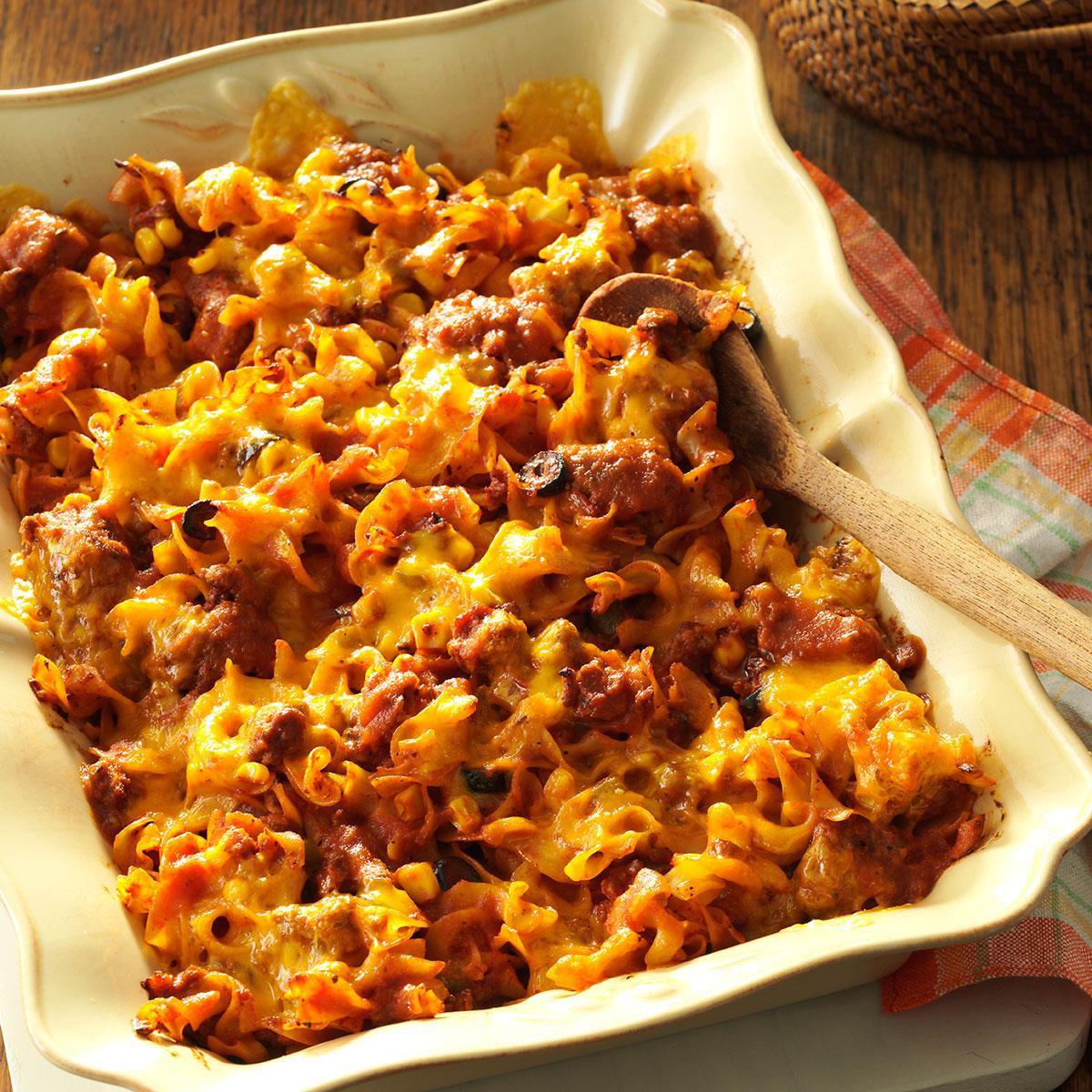 Pork Casserole Recipies  Italian Casserole Recipe