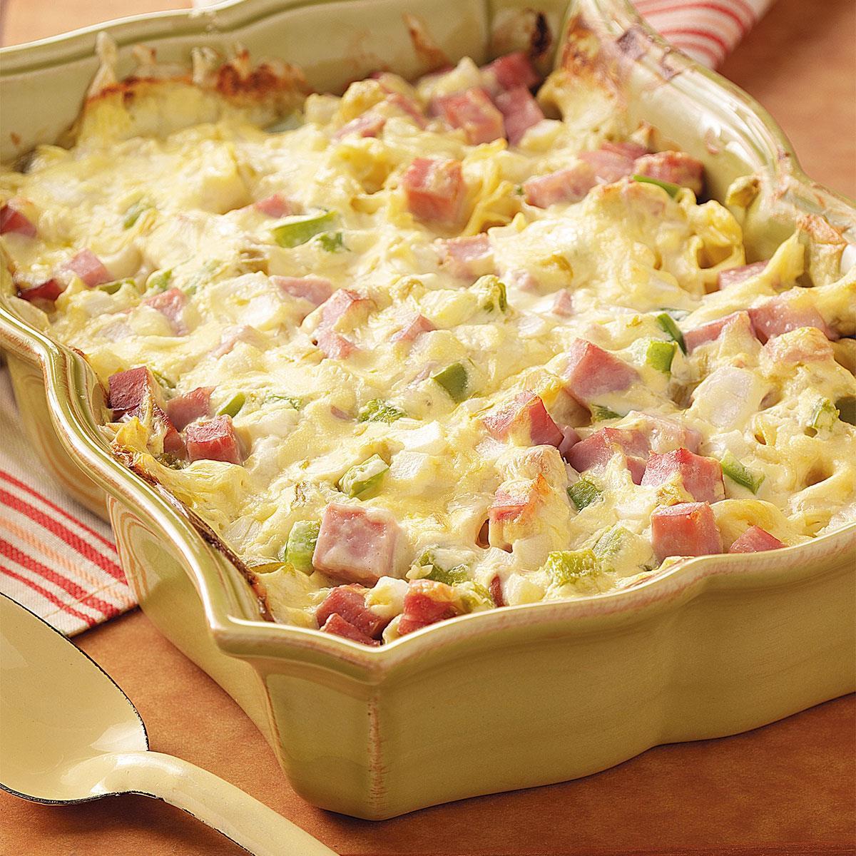 Pork Casserole Recipies  Ham and Swiss Casserole Recipe