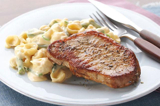 Pork Chop Dinners  e Pot Herb Crusted Pork Chop Dinner Kraft Recipes
