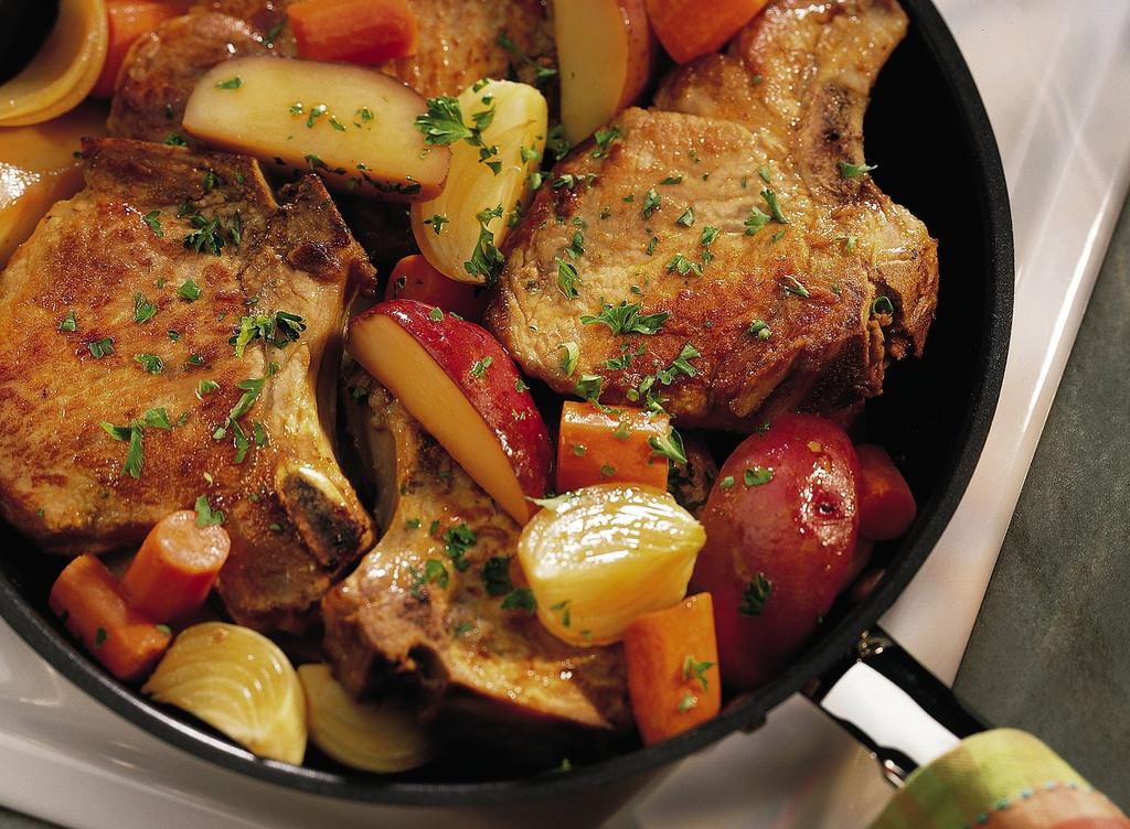 Pork Chop Dinners  Back to photostream