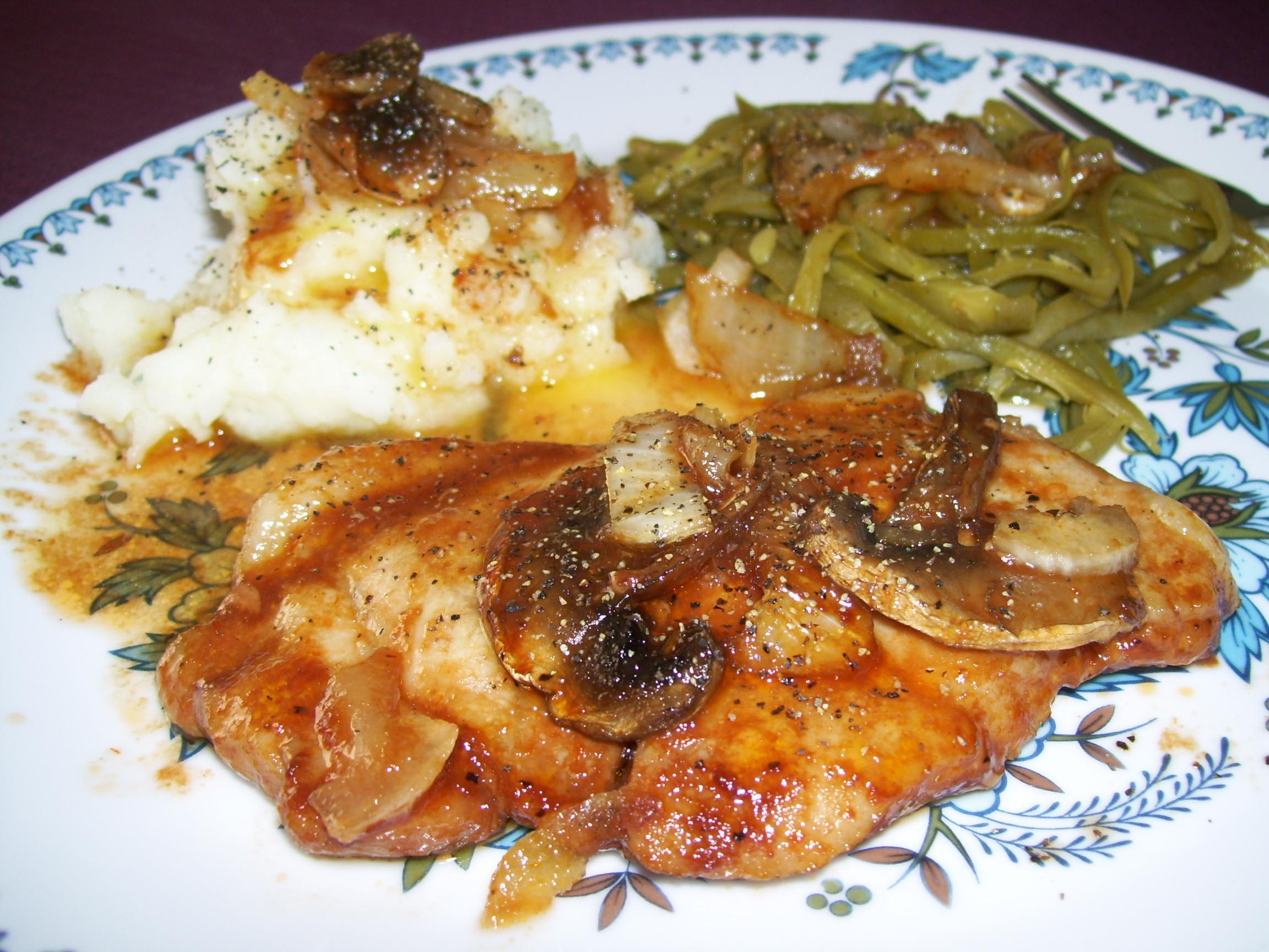 Pork Chop Dinners  Saucy Pork Chop Dinner