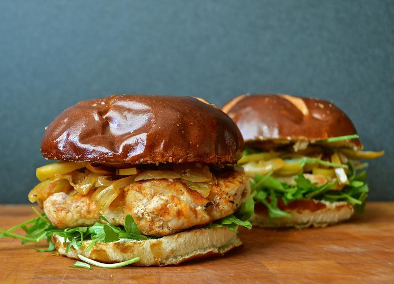 "Pork Chop Sandwiches  Sandwich 267 ""Brady Bunch Special"" Pork Chop Sandwich"