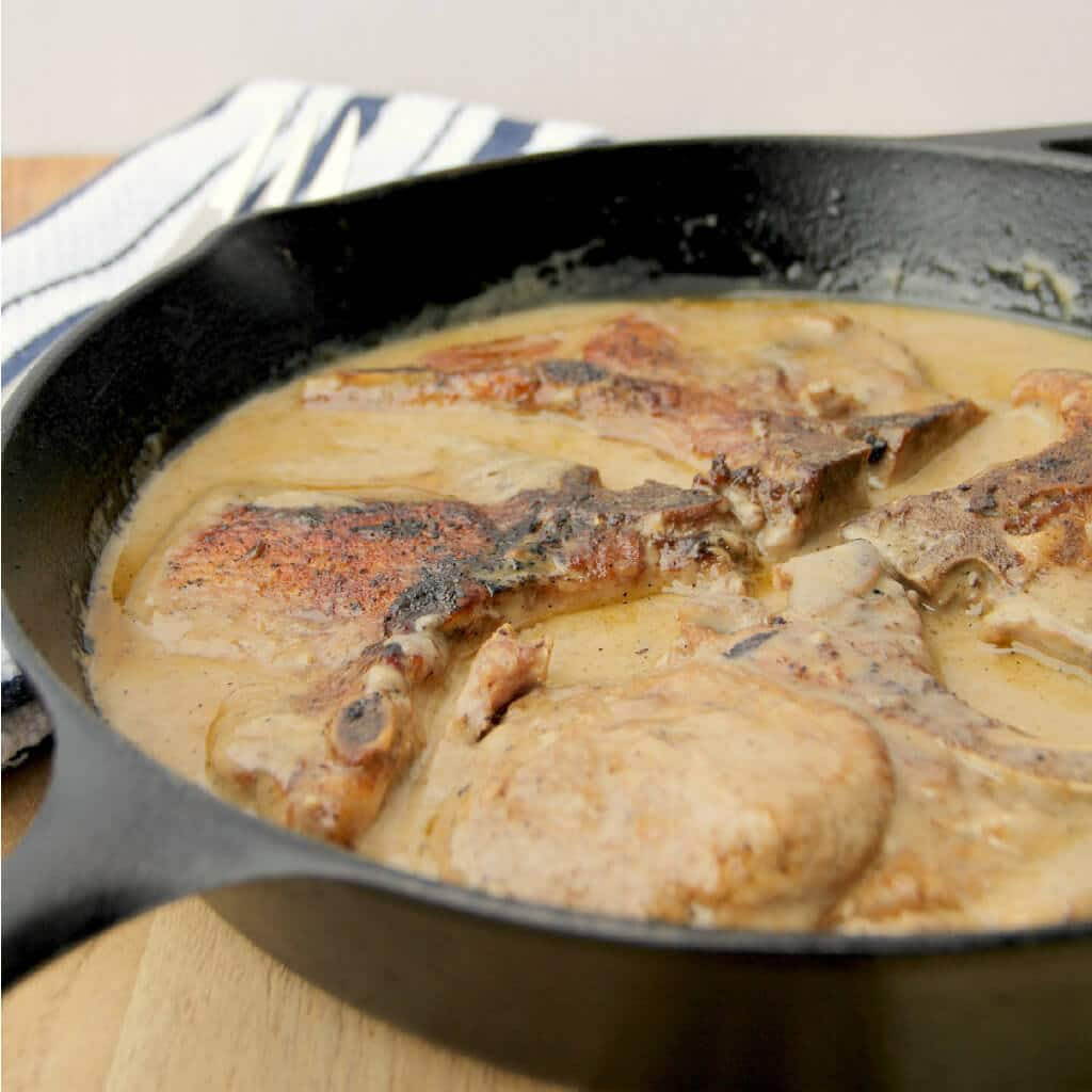 Pork Chops And Rice Cream Of Mushroom  Baked Pork Chops with Cream of Mushroom Soup