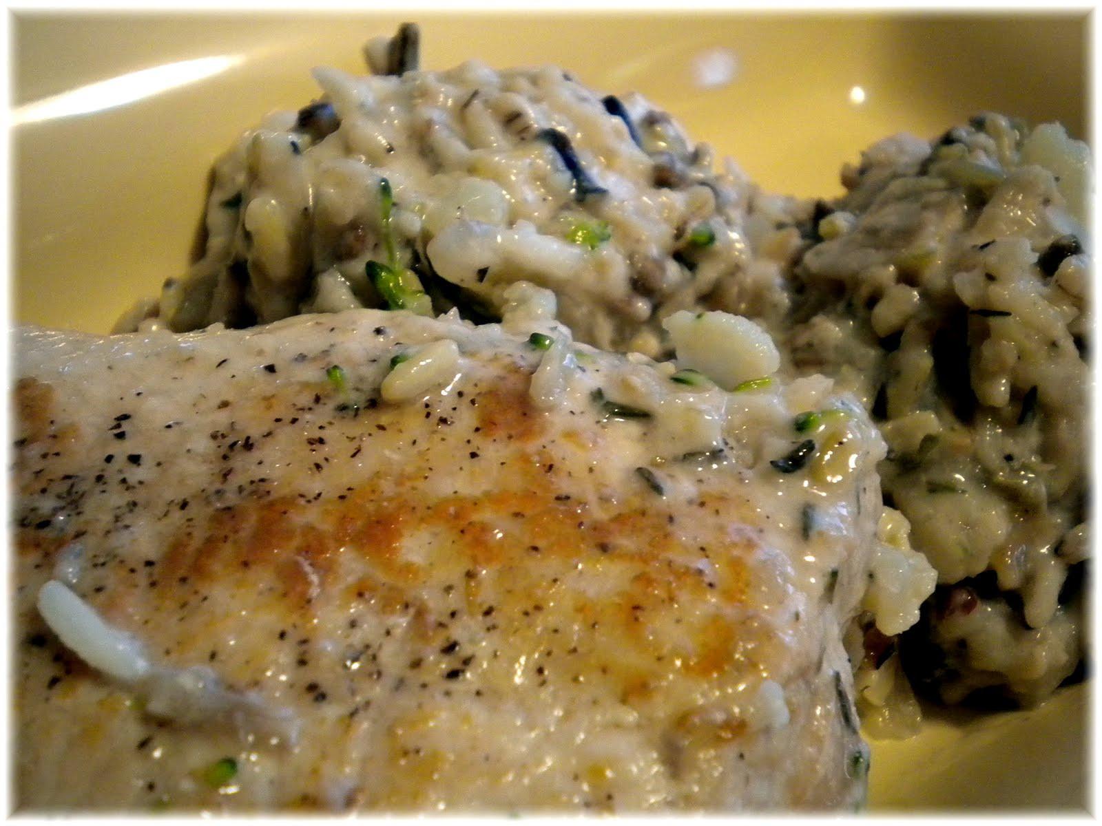Pork Chops And Rice Cream Of Mushroom  Mom Taught Us Rice & Pork Chop Bake