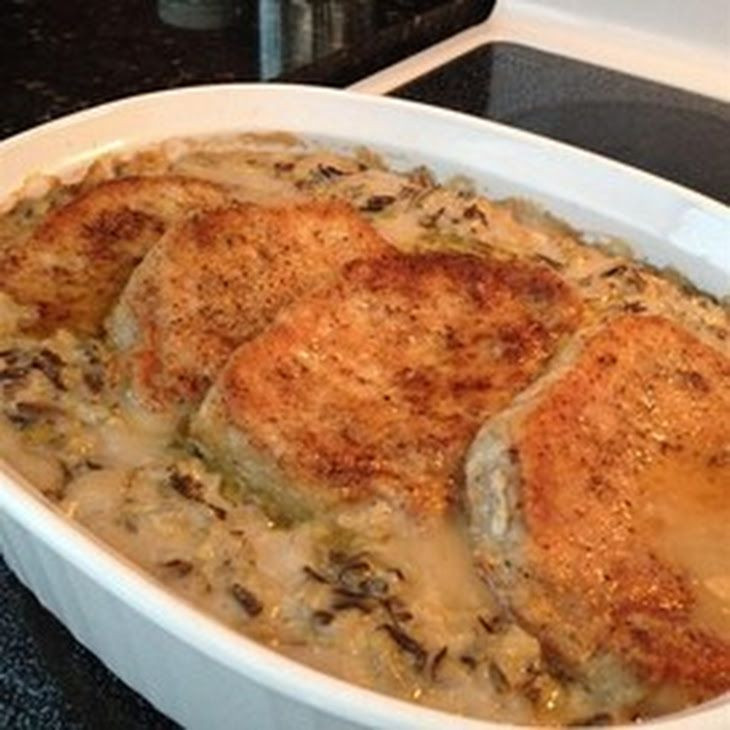 Pork Chops And Rice Cream Of Mushroom  Minnesota Pork Chops Recipe Main Dishes with pork chops